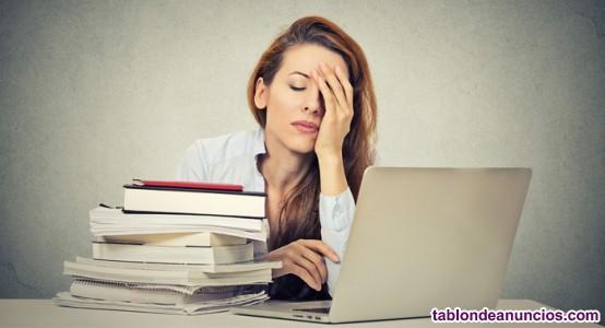 Los deberes universitarios te superan?