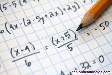 Clases particulares matemáticas y otras asignaturas