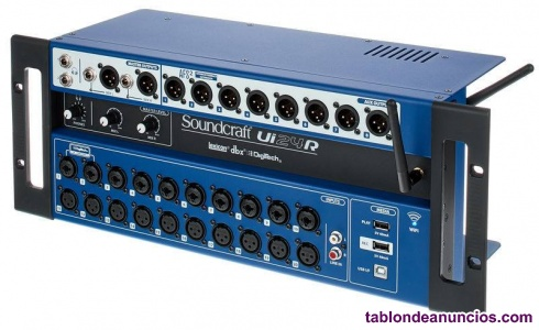 MESA DE MEZCLAS DIGITAL SOUNDCRAFT UI24R