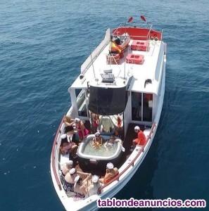 Yate pasaje y turismo para 50 pax-sirene