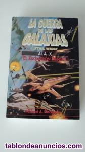 Novela Ala-X, el escuadrón rebelde ¡¡¡SIN USAR!!!