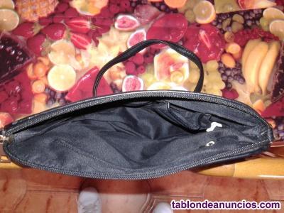 Bolso negro vestir