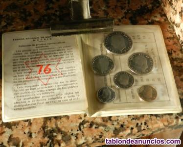 Venta coleccion monedas años 1976-1977-1978-1979-1980-1981-1982