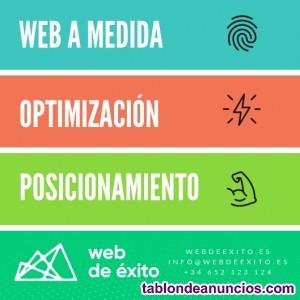 Webs, tiendas virtuales, seo
