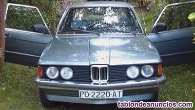 Se vende clasico bmw 316 1.8 carroceria e 21 del año 1982 gasolina traccion tras