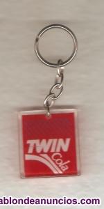 Llavero twin cola