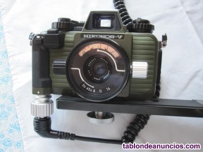 Camara de fotos submarina nikon