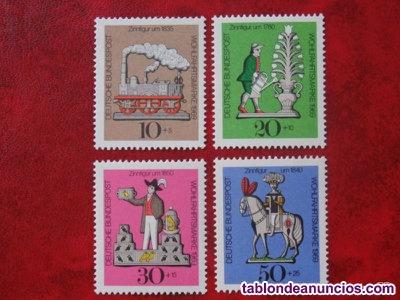 Intercambio sellos de Alemania 3x1