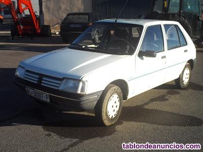 Peugeot 205 1.1 junior (totalmente original).