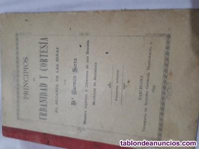 Libro del siglo19 firmado por el autor
