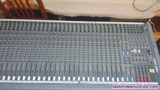 Mesa de directo Sound Craf