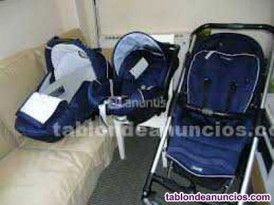 OFERTA: Cuna Bebécar y cochecito Bebé Confort