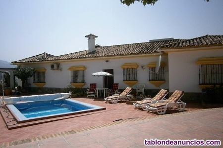 Algodonales near Ronda, Beautiful Country Villa, 4 Bedrooms
