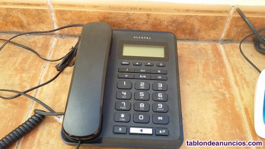 Vendo teléfono sobremesa alcatel negro