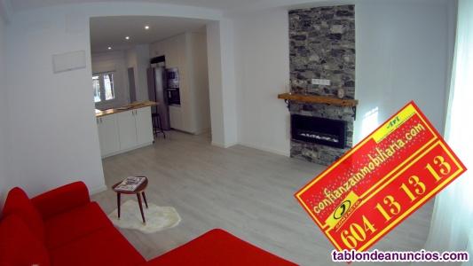 Piso de 101 m2. Exterior. 3 habitaciones. Junto a Madrid Rio  Reformado, amueb