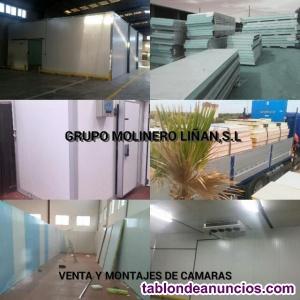 Por Cierres y Excedentes LIQUIDACIÓN; Cámaras,salas,secaderos,túneles,panel etc.