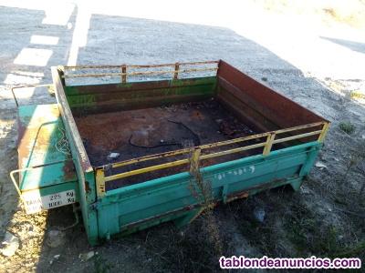 Remolque para mulilla de 1, 40 x 1, 73 m