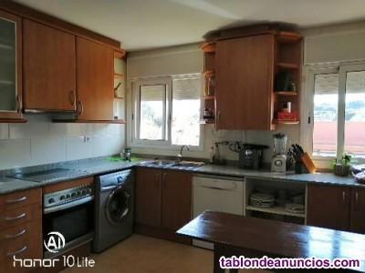 ..alquiler de 2  habitaciones dobles.  con terraza y baño 375 €