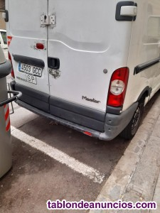 Autónomo con furgoneta se ofrece para reparto paquetes