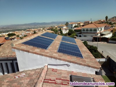 KIT Auto consumo eléctrico  placas solare voltaicas