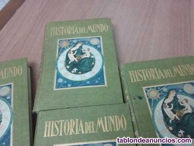 HISTORIA DEL MUNDO POR J. PIJOAN.  DE SALVAT EDICIONES, S.A.  COMPUESTO DE 5 TO