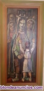 Pintura lopez guntin y de j.l.perez alaez-chantada-lugo