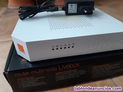 ROUTER LIVEBOX ORANGE NUEVO, SIN USAR.
