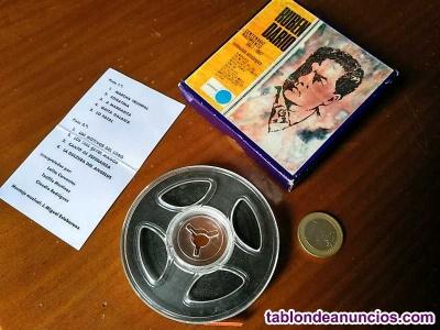Ruben dario cinta antigua de magnetofon magnetofonica o magnetofono