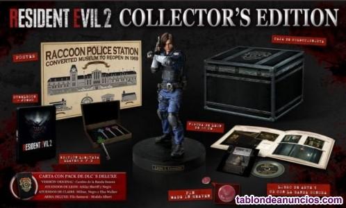 Residente Evil 2 PS4 edición coleccionista