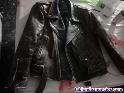Oferta chaqueta autentica piel(bajada de precio antes 20 ahora 15)