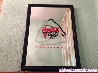 Cuadro espejo Coca Cola Light