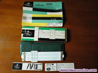 Regla de calculo 62/83 faber castell - calculadora - slide rule - rechenschieber