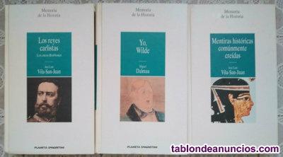Coleccion completa libros memorias de la historia