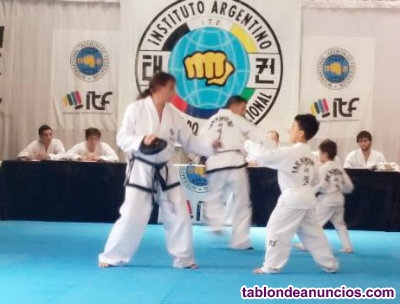 Taekwondo itf kids niños y niñas de 4 a 8 años nahuel huapi 5891