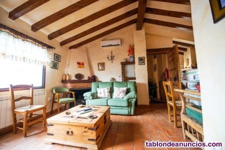 26-21  Precioso apartamento de estilo rural, en un