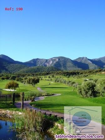 COSTA DEL SOL, sobre un maravilloso campo de  golf
