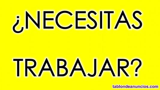 ¿NECESITAS TRABAJAR O INGRESOS EXTRA? Si vives en ESPAÑA contáctanos..