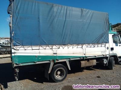 Caja de camion de 5x2, 20m techo de lona