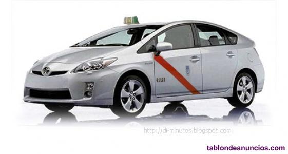 Venta licencia taxi en madrid