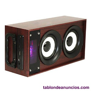 Altavoz bluetooth 10w radio fm, mp3 y manos libres