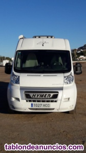 FIAT HYMER CAR 322, SE VENDE CAMPER HYMER CAR 322