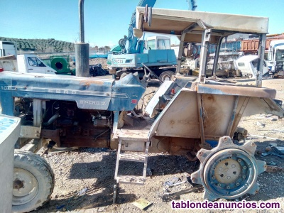 Despiece de tractor ebro sincro 12