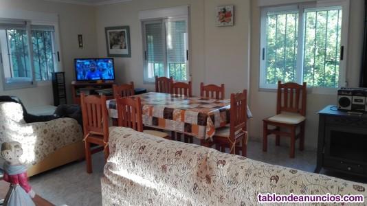 Chalet, casa rural, 6 habitaciones con naranjos y piscina grande