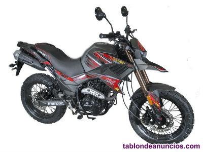 Motocicleta Malcor Adventure 125
