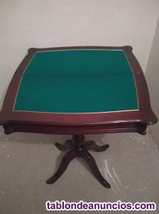 Mesa de juego vintage