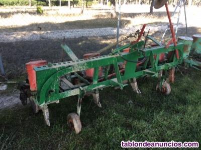 Máquinas de sembrar girasol