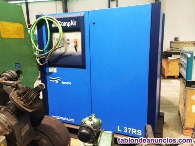 Compresor de tornillo compair 50 cv  velocidad variable