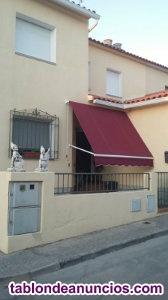 A la venta vivienda adosada unifamiliar de 117 m2 con porche, garaje y zona ajar