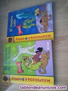 Dos libros de Scooby-Doo
