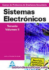 Libro oposiciones sistemas electrónicos